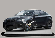 MODEL CARS, BMW X6 -01, 11,8x 7,8 inches with Clock