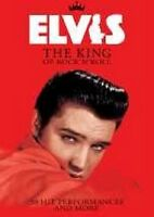 "ELVIS PRESLEY ""THE KING"" DVD NEUWARE"