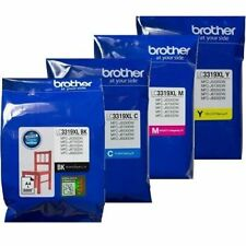 4x Genuine Brother LC3319 LC-3319 XL B/C/M/Y Ink for MFC-J6530DW J6730DW J6930DW