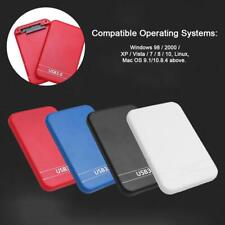 2.5 Inch 2TB Portable USB 3.0 External Hard Drive Disk Storage Devices Case