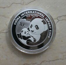2018 China Chengdu International Marathon 4g Silver Panda Medal,China coin