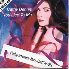 CD SINGLE You lied to me 2-track CARD SLEEVE	CDSINGLE 1992 FRANCE RARE