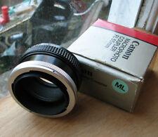 Genuine Canon FL FD Manuel MACRO PHOTO COUPLEUR REVERSE Mount hélicoïde FL55 55 mm