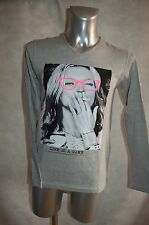 TEE  SHIRT  GANGSTER UNIT GU613 NEUF TAILLE S  TOP  KATE MOSS LIFE IS GAME
