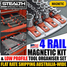 STEALTH Complete Socket System and Low Profile Combo Pack Tool Organiser Rails