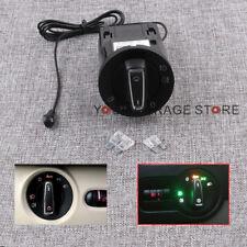 Neu Chrom Auto Lichtschalter + Sensor Lichtsensormodul Für VW Bora Golf 4 Passat