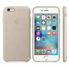 Apple Authentic Leather Case for Apple iPhone 6 Plus & 6s Plus - Rose Gray