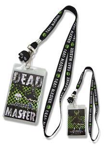 **Legit** Black Rock Shooter Dead Master Badge ID Holder Authentic Lanyard#37515