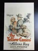 The Yellow Cameo (1928) US Window Card Movie Poster