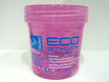 [ECO STYLER] STYLING GEL CURL AND WAVE FIRM HOLD 8OZ PINK