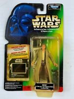 STAR WARS The Power Of The Force Kenner Action Figure HAN SOLO IN Endor Gear
