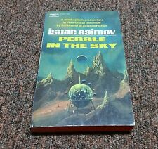 ISAAC ASIMOV vintage SCIENCE FICTION, PEBBLE IN THE SKY June 1971 edge page scar