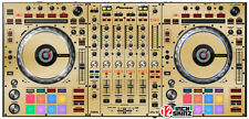 Pioneer DDJ-SZ skin brushed gold