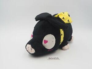 """Ranma B0406 Ryoga Hibiki P-chan Black Pig Sk Japan 6"""" Plush Toy Doll"""
