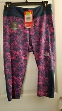 Nwt Girls Youth The North Face G Pulse Capri Reflective Size Xl Y-Performance