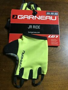 Louis Garneau Kid Ride Junior/Youth Cycling Gloves - 1481093 Neon Green/yellow S