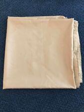 Fabric Shower Curtain In Tan