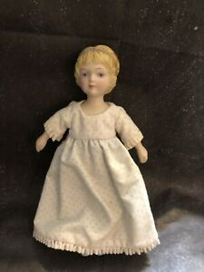 Avon 1983 Victorian Collector Doll Hand Painted Porcelain/Bisque Head and Limbs