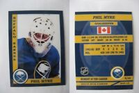 2015 SCA Phil Myre Buffalo Sabres goalie never issued produced #d/10
