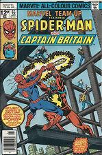 Marvel Team Up  #65   VF  1st US Captain Britain!