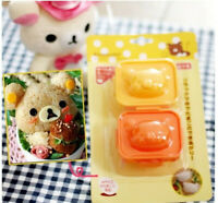 Rilakkuma Relax Bear San-X Sushi Rice Vegetable Boiled Egg Mold Shapers Cutter