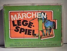 """03 302 DDR Legespiel """"Märchen Legespiel"""""""