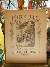 Partition Mireille Charles Gounod Music Sheet