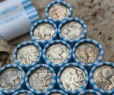 ONE Short $1 Buffalo Nickel Coin Roll - NO DATE -  Old Vintage PDS US Coin Lot