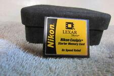 Nikon Lexar Coolpix Starter Memory Card 8x Speed