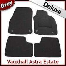 VAUXHALL ASTRA H Estate 2004-2010 Tailored LUXURY 1300g Carpet Car Mats GREY