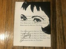 Keely Smith American Jazz Singer Caricature For Magazines Original Photograph