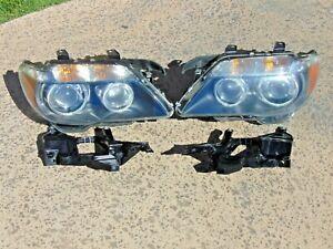 06-08 BMW 750i 760li 760i Headlights Xenon Adaptive Restored Lenses LH & RH Nice