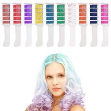 6/10Pcs Disposable Hair Chalk Hair Color Comb Dye Salon Kits Cosplay Party  e*