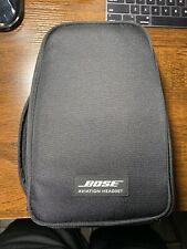 Bose Aviation A20 Headset With Bluetooth Dual Plug Used.
