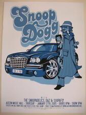 2005 Snoop Dogg - Austin Silkscreen Concert Poster by Bobby Dixon s/n