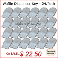 "Universal ""Waffle"" Dispenser Key - (24/pc.) ""Master Pack"""