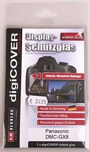 Digi cover Hybridglas Displayschutz für Panasonic Lumix GX8