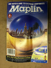 More details for maplin catalogue 1991/1992 collectable,buyer's guide to electronic components