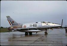 Original colour slide F-100D Super Sabre 54-2128 11-RG EC.11 French AF Jun 1971