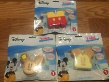 Lot of 3 Disney Kawaii Squeezies Mickey Mouse- ALL DIFFERENT