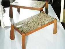 BELLE TABLE 24cms BOIS, EBNISTERIE 1930/40 ART DECO : POUR MAISON DE POUPEES