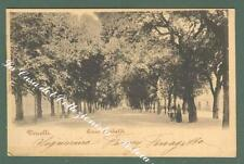 Piemonte. VERCELLI. Corso Garibaldi. Cartolina d'epoca viaggiata nel 1900.