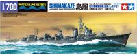 TAMIYA 1/700 Shimakaze de Japón Azul Marino Destructor #31460