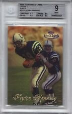 1998 Topps Gold Label PEYTON MANNING Class 3 RC Black *Colts* BGS 9 *High Subs*