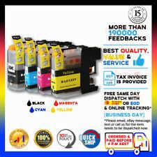 4 NoN-OEM Ink LC133 LC-133 B/C/M/Y for Brother DCP-J552DW J752DW MFC-J245 J415DW