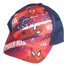 UFFICIALE ESTATE Cappello da Baseball - Taglia 52 - Marvel Spiderman - Navy
