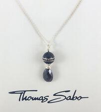 Thomas Sabo Damen Halskette UVP-129,00 € 925er Silber Schwarz AIR KE1131 041 11