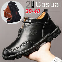 Mens British Ankle Boots Business Dress Oxfords Cowhide Leather Casual Shoes New
