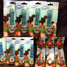 Lot of 14 Mickey Mouse Clubhouse LCD Kids Watches Blue & Red