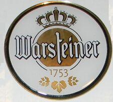 ۞ WARSTEINER  Das Einzig Wahre  Brauerei Bier  Logo Aufkleber Sticker ۞ 3 cm